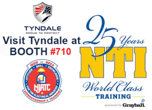 Meet with Tyndale at NJATC/NTI Trade Show - July 26 & July 27